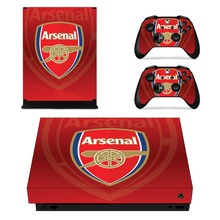 Arsenal Football Team Skin Sticker For Xbox One X