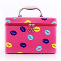 Lip pattern Travel Bag Fashion Waterproof PU Cosmetic Bag Multifunction Makeup Storage Bag Ladies Toiletry Zipper Bag Bolsas