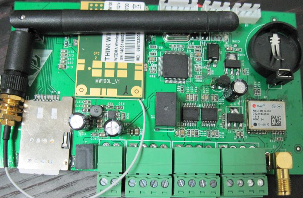 STM32 development board, with 3G communication and GPS functions