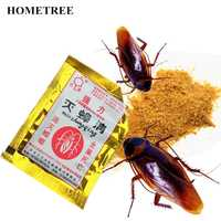 HOMETREE 100PC Roach Killer Effective Cockroach Kill Bait Powder Cockroach Repeller Killer Anti Pest Cockroach Powder Pest H55