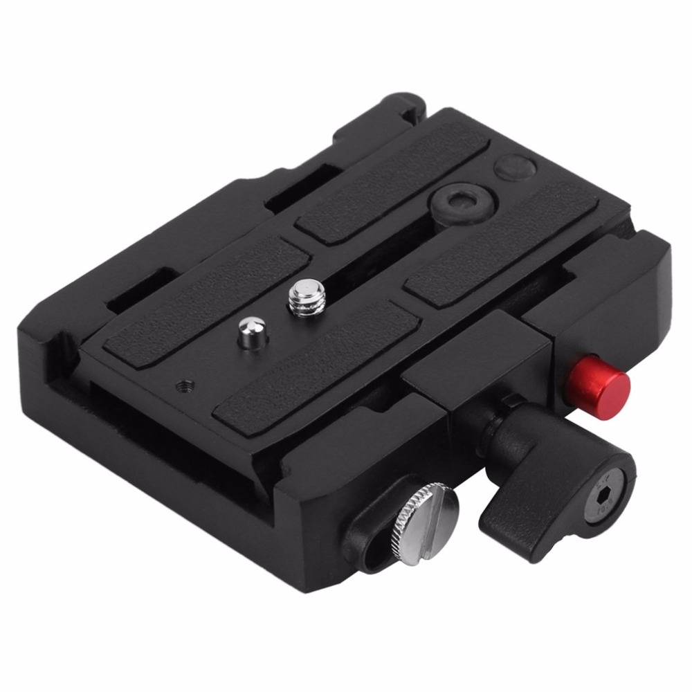 577 Rapid Connect Adapter + 501PL Sliding QR Plate Set Camera Quick Release Sliding Plate For Manfrotto HEAD 501HDV