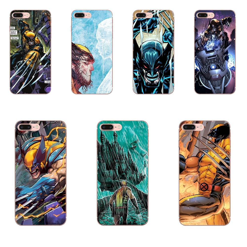 For LG G2 G3 G4 G5 G6 G7 K4 K7 K8 K10 K12 K40 Mini Plus Stylus ThinQ 2016 2017 2018 Luxury Marvel Comics Super Hero Wolverine image