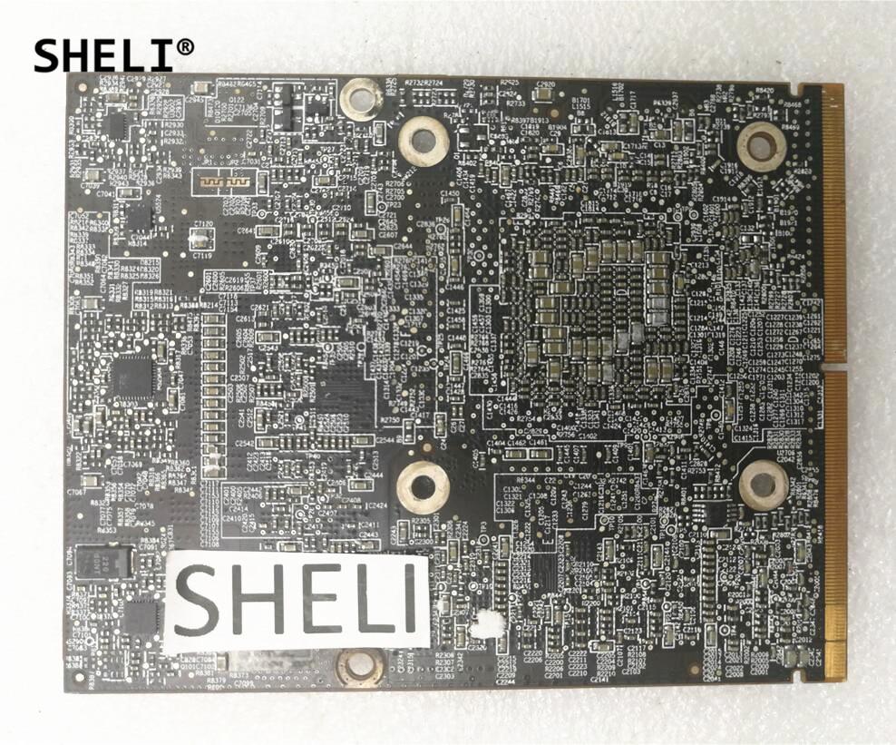 SHELI For Apple iMac 27 A1312 HD6970 HD6970m HD 6970 6970M 2GB DDR5 109-C29657-10