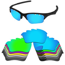 PapaViva POLARIZED Replacement Lenses for Half Jacket XLJ Vented Sunglasses 100% UVA & UVB Protection - Multiple Options