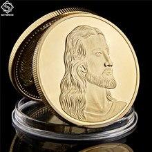 Jesus Revival-monedas conmemorativas de la Biblia cristiana europea