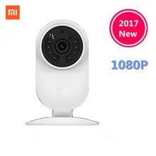 Оригинальный Xiaomi mijia Smart IP Cam 1080 P 2.4 г и 5.0 г Wi-Fi Беспроводной 130 Широкий формат 10 м Ночное видение иерархическая обнаружения