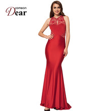 Comeondear Vestidos De Fiesta Largos Elegantes Vk1006 China Embroidery Dresses Large Sizes Backless Party Gown Long Summer Dress