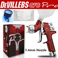 Wholesale and retail Devilbiss GFG professional spray gun HVLP car paint gun, 1.3mm  painted high efficiency, good atomization