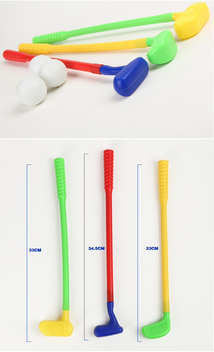 В Гольф клуб детские пластмассовые игрушки отдыха мини Гольф клуб устанавливает