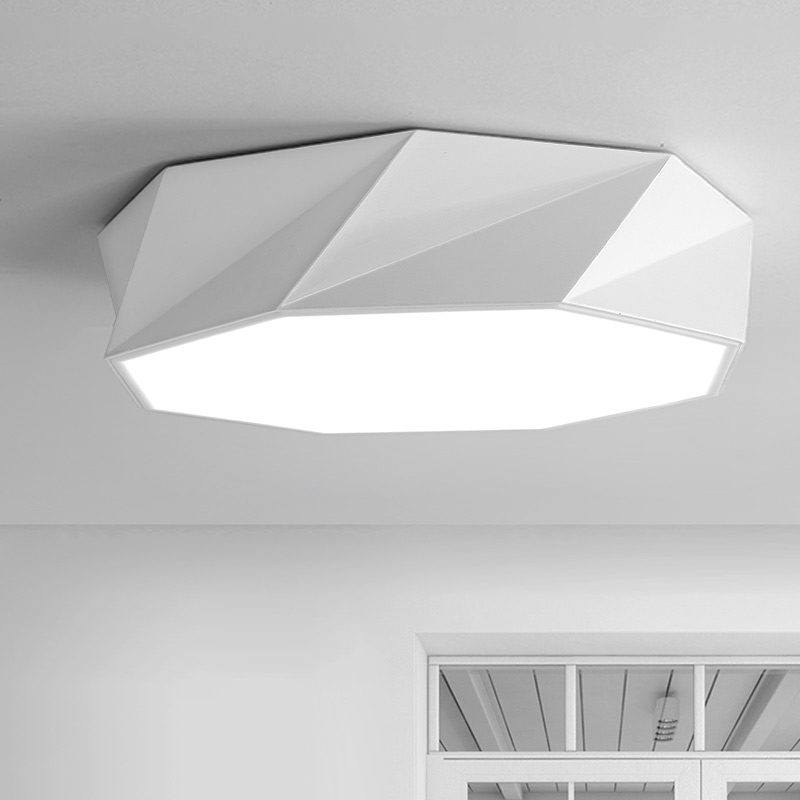 Led Ceiling Lamp With Remote Control Modern Bedroom Living Room Kitchen Lights Fixtures White Iron Home Lighting Lustre 110-220V vemma acrylic minimalist modern led ceiling lamps kitchen bathroom bedroom balcony corridor lamp lighting study