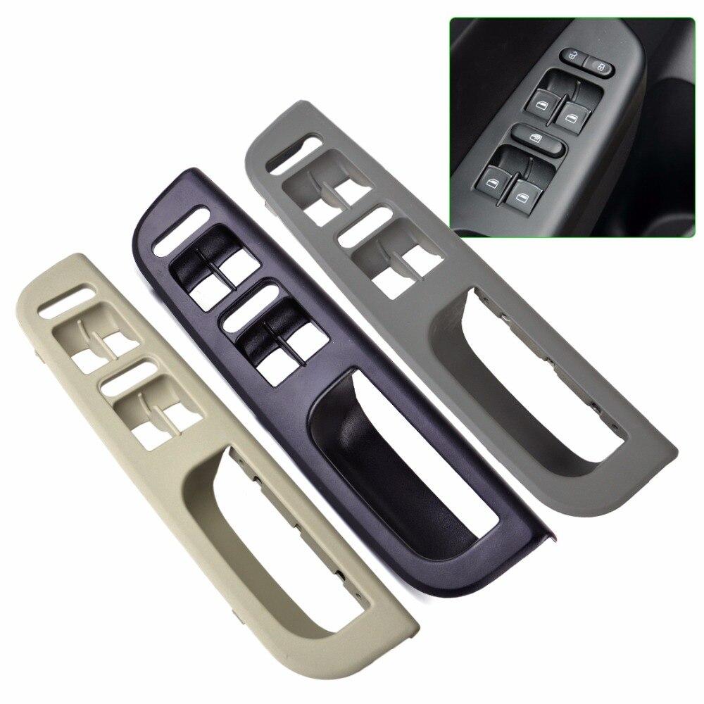 Citall 3b1867171e interruptor de ventana de la puerta del coche panel de control bisel para VW Passat B5 Jetta Bora Golf Mk4 1998 1999 2000 2001-2004