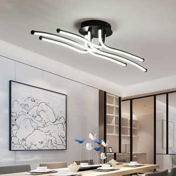 2018 New Arrival Modern ceiling chandelier lights for living room bedroom Study room Modern led chandelier lighting fixtures