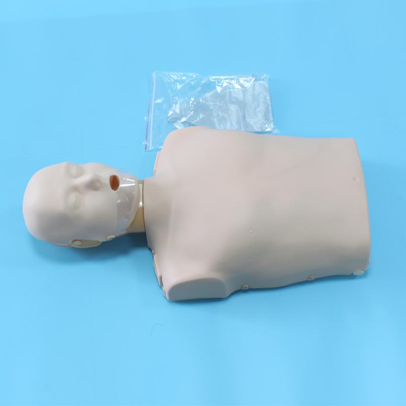 BIX/CPR100B Adult Cardiopulmonary Resuscitation Medical Training Model CPR Half Body Manikin bix h2400 advanced full function nursing training manikin with blood pressure measure w194