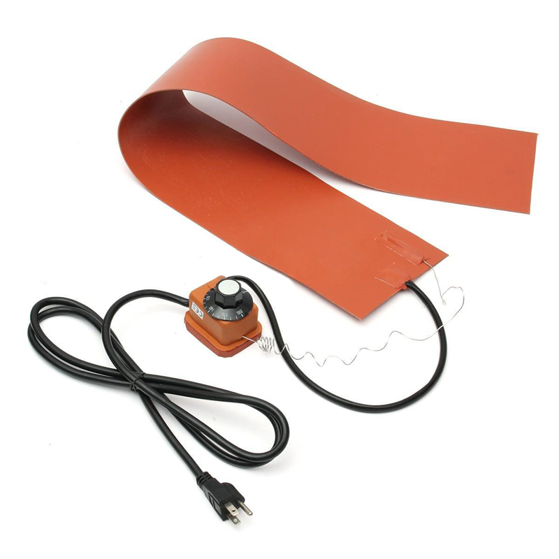 36*5.9 1200W 220V Silicone Rubber Heating Blanket w/ Temp Controller for Guitar Side Bending Silicone Heating Pad conductive silicone rubber controller rubber for ps3 wireless controller 200sets lot