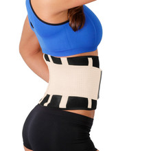 Waist Wrap Weight Loss Trimmer Belt Lightweight for Lower Back and Lumbar Support Weightlifting