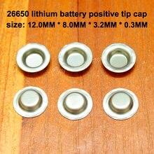 50 шт/лот 26650 литиевая батарея положительный электрод отрицательная