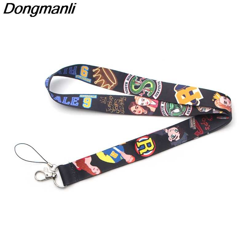 DMLSKY Riverdale Southside Serpents Keychain Cool Phone Lanyard Fashion Strap Neck Lanyards for ID Card Phone Keys M2638