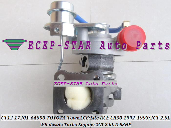 CT12 17201-64050 17201 64050 17201-64040 Turbocompresseur 17201-64020 - Pièces auto - Photo 2
