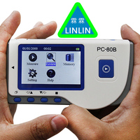 LINLIN Advanced Handheld ECG Monitor Mini Portable LCD Electrocardiogram Heart Monitor Monitoring Health Care Machine 233+