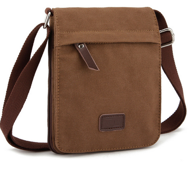 High Quality Men Canvas Bag Casual Travel Bolsa Masculina S Crossbody Messenger Bags
