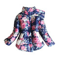 11.11 Peony Flower Toddler Girl Coat Autumn Winter Baby Girl Coat Children Retail 1PC Jackets Infant Winter Jackets And Coat