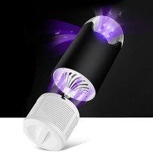 Behogar безопасный Электрический комаров насекомых ловушка лампа с питанием от USB фотокатализатор Fly «электронная мухобойка» репеллент Ловец ночник