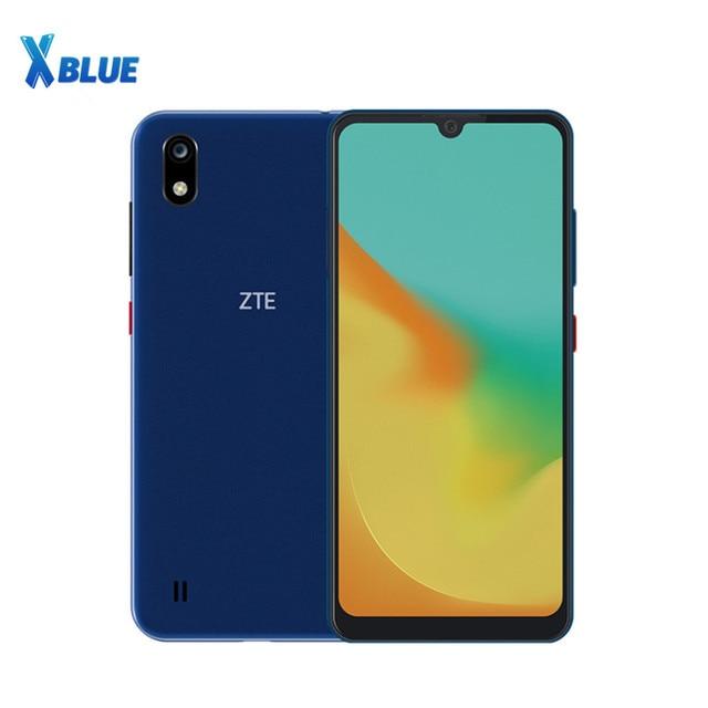 ZTE teléfono inteligente Blade A7 Original, Helio P60, Octa Core, identificación facial, 6.088 pulgadas, TFT, 1560x720, GPS, cámara de 16.0MP + 5.0MP, 4G LTE