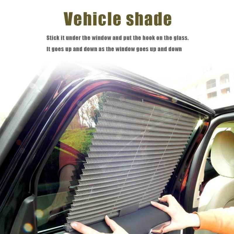 VODOOL Car Side Window Sunshade Folding Sun Shade Shield UV Protection Curtain Auto Car Windshield Sunshades Accessories