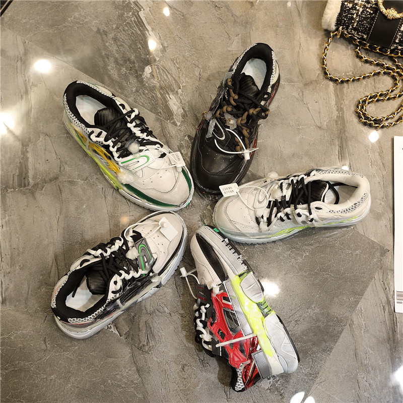 Pic Deporte 19ss Plataforma Pic De as Zapatillas Cuero Mujer Zapatos Mano Plana Hecho As Transpirables Casuales Suave A 8qfwrT8