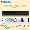 New Arrival 1080P AHD-H 4 Channel AHD DVR Recorder Video Recorder HDMI 4 Channel Hi3520 AHD DVR 1080P AHDH For 1080P AHD Camera
