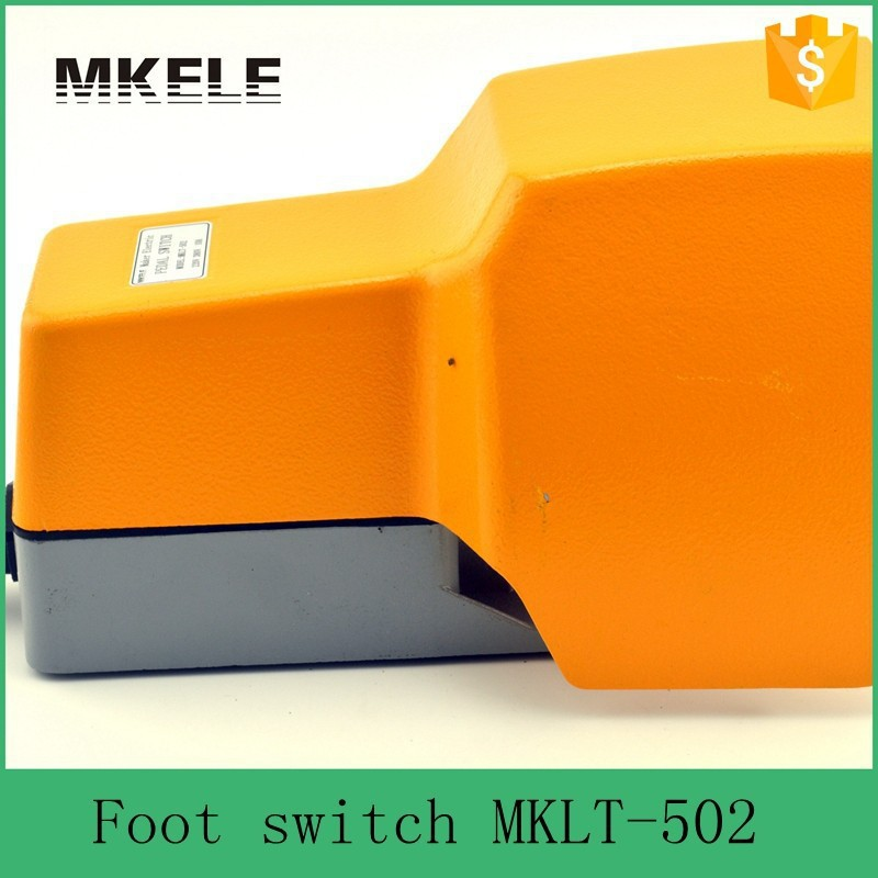 MKLT-502 CE electrical foot Control limit 3pdt pedal switch for tattoo machine,Metal Case Foot Switch Pedal wholesale price foot control pedal for welding machine