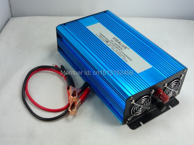 цена на Full Power Aluminum Shell Off Grid Pure Sine Wave 1500W 12VDC 24VDC Power Inverter