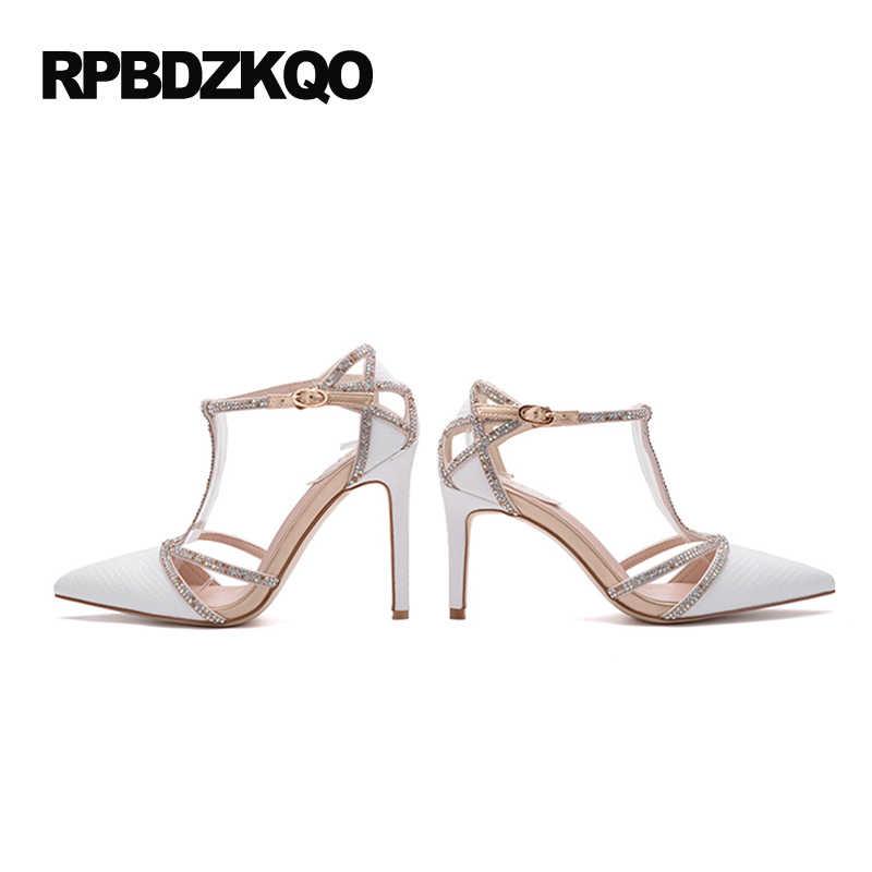 ... Size Scarpin Pointed Toe Ladies High Heels. RELATED PRODUCTS. Scarpin  Sexy High Heels Ladies Satin Dress Shoes White Rhinestone Women Pumps Strap  T Silk ... a7c48eddc8b9