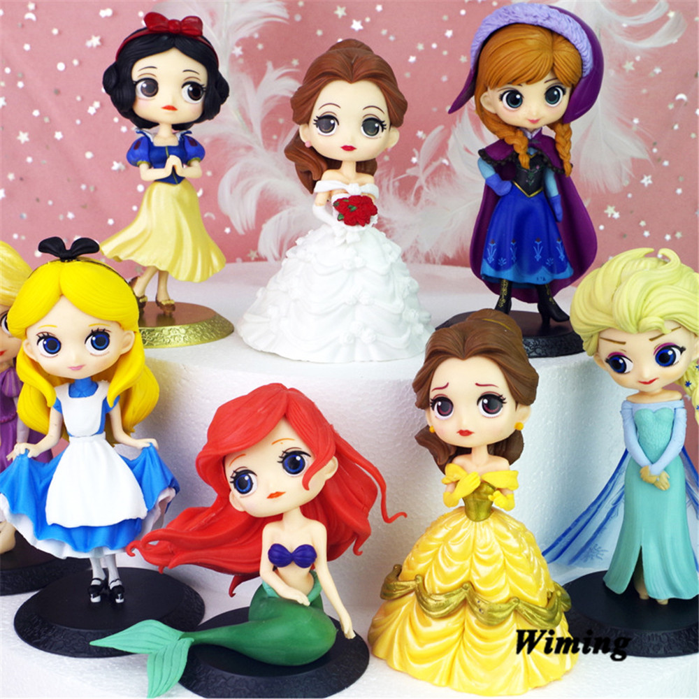 princess cake topper birthday girl party decoration cake decorating supplies children toys girl gift birthday cupcake toppers in Cake Decorating Supplies from Home Garden