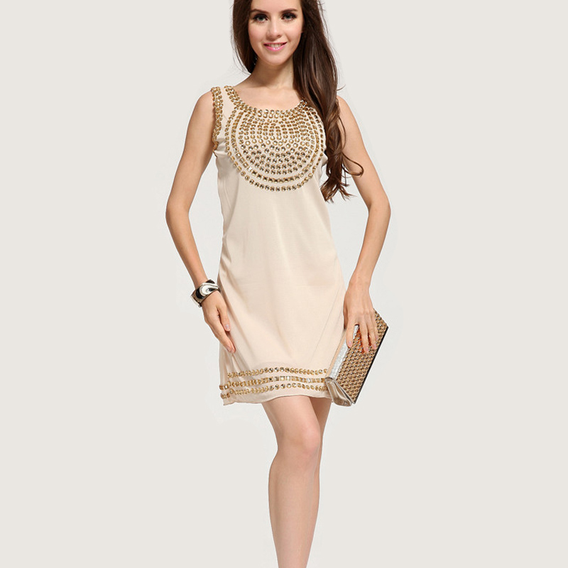 Online Shop Hot Sequin Evening Party Dress Night Club Sexy Pencil