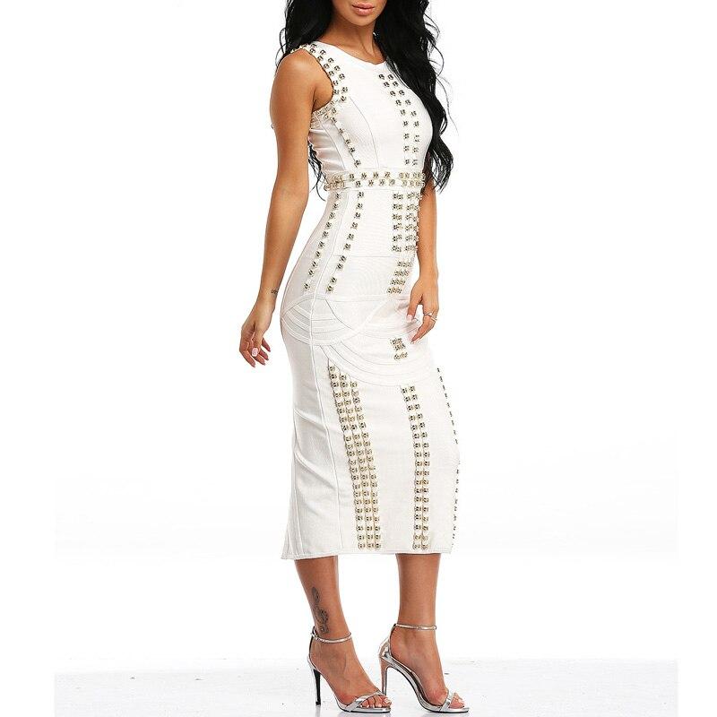 INDRESSME 2018 Kändis av god kvalitet Kim Kardashian klänning - Damkläder - Foto 6