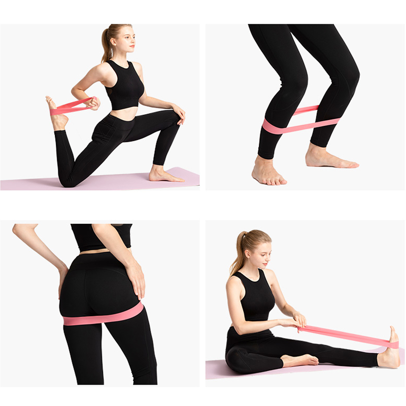 Elastic Resistance Loop Band Body Gym Training Pull Up Fitness Yoga Exercise  VT