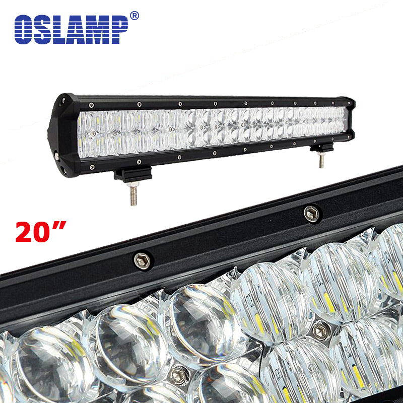 Oslamp 210W 20inch 5D CREE LED Chips Work Light Bar OffRoad Combo Driving Lamp 12v 24v Boat SUV ATV Car RV Remodel 6000K Led Bar oslamp triple row 6000k cree chips