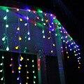 2 M * 1 M 300 Led Luces de Cadena de Cortina de La Ventana En Forma de Cereza Cadena Led Luces de Navidad de Hadas de La Boda Garden Party Decoraciones Para El Hogar