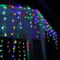 2M*1M 300Leds Window Curtain Cherry Shaped String Lights String Led Lights for Xmas Fairy Wedding Party Garden Home Decorations