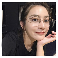 5ec235471da BOYEDA Vintage Round Eyeglass Frames for Women Men Metal Prescription  Spectacles Frame for Round Face Retro