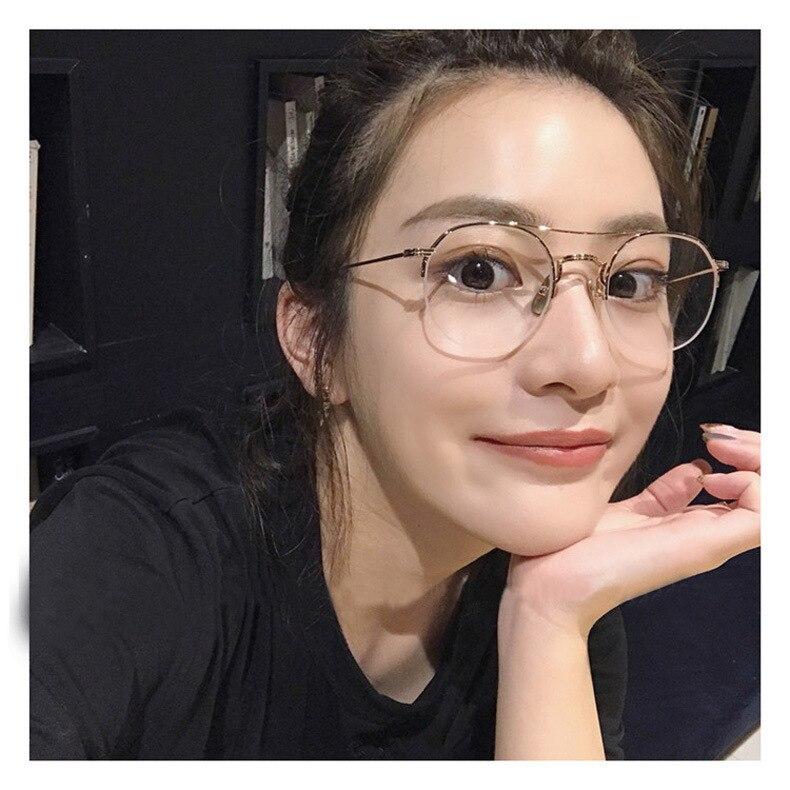 BOYEDA Vintage Runde Brillen Rahmen für Frauen Männer Metall ...