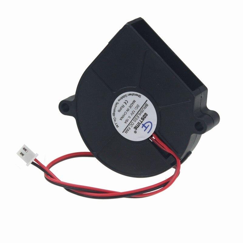 Gdstime 5 шт./лот 2Pin 2 Провода 0.18A 60 мм x 15 мм 6015 S 6 см бесщеточный 12 В Воздуходувка центробежный вентилятор охлаждения кулера для компьютера