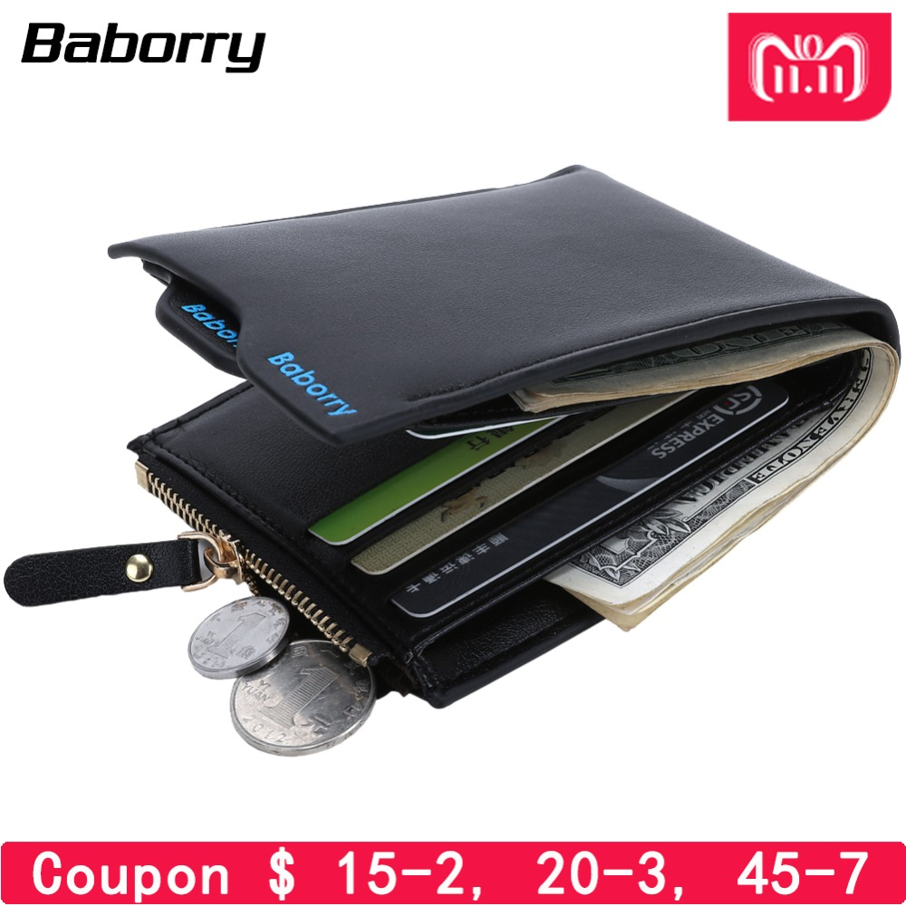 2018 Hot Fashion Wallets for Men with Coin Pocket Wallet ID Card holder Purse Clutch with zipper Men Wallet With Coin Bag Gift 2016 new fashion men wallets bifold wallet id card holder coin purse pockets clutch with zipper men wallet with coin bag gift