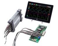 Hantek6104BD Hantek 6074BD 6204BD 6254BD 4CH USB осциллографы для ПК 250 МГц осциллограф с частотой дискретизации 1GSa/s в реальном времени