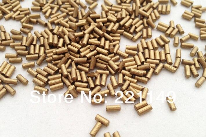 2.2mm * 5mm environ 7900 pièces/PP sac (1 KG). pierre de Flints dorés de haute qualité, accessoires de Flints plus légers. outils de Camping en plein air. - 4