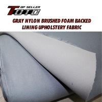 70 X60 180cmx150cm UPHOLSTERY Auto Pro Gray Headliner Fabric Ceiling Foam Backing Roof Lining Car Styling