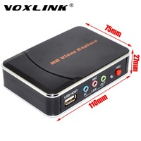 VOXLINK HD Video Capture Game Capture 1080P YPbPr Recorder Box To USB Disk For Xbox PS3