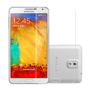 "Image 2 - Nicotd 2.5D Tempered Glass For Samsung Galaxy Note 3 III N9000 N9005 5.7"" Anti Shock Toughened Screen Protector Protective Film"