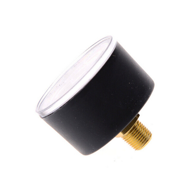 Venda quente Compressor de Ar Pneumático Medidor de Pressão do Fluido Hidráulico 0-12Bar/0-180PSI baixo preço Por Atacado